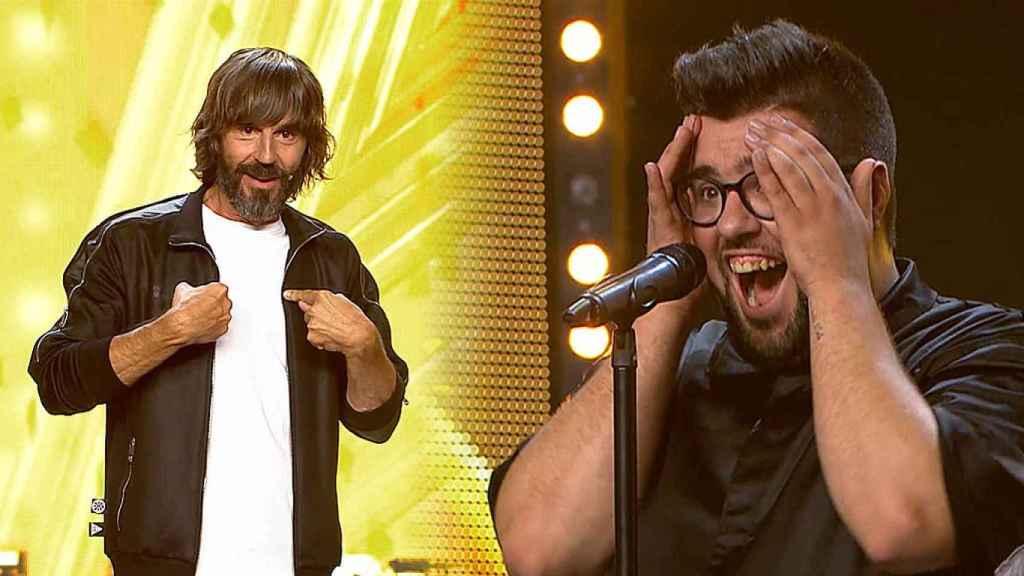 Pitu conseguía el pase de oro de Santi Millán en la octava gala de 'Got Talent'.