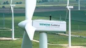 Aerogeneradores de Siemens Gamesa.