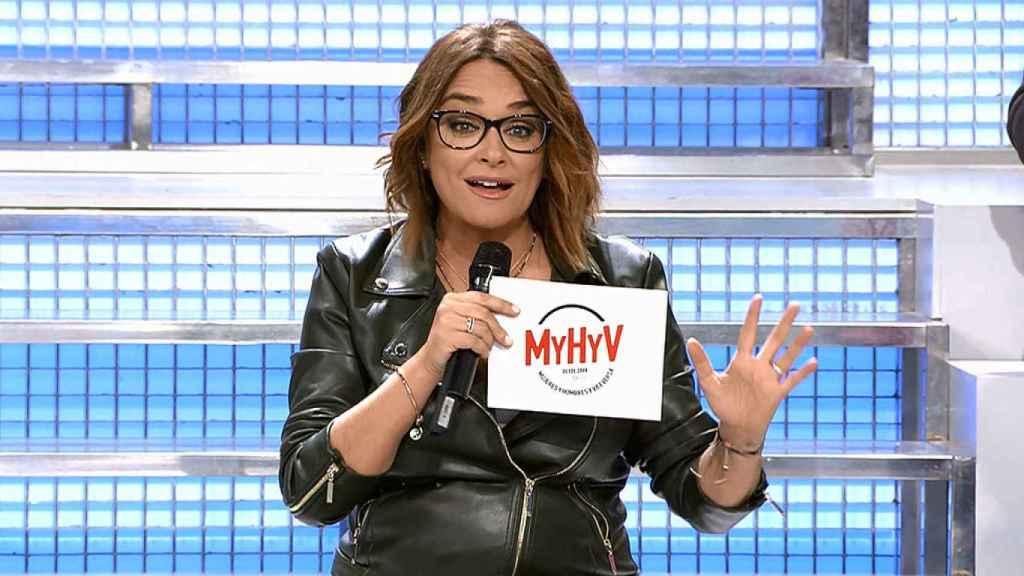 Toñi Moreno se estrenaba en 'Mujeres y Hombres y Viceversa' el 5 de noviembre de 2018.