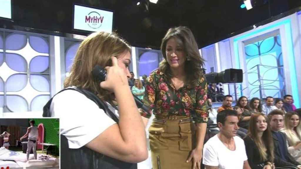 El pasado 9 de octubre lloraba en directo al creerse la noticia sobre la muerte de Teresa Campos.
