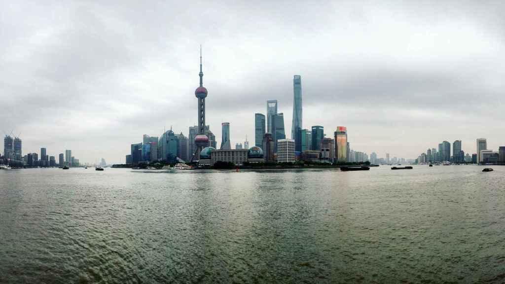Vistas de Shanghái.