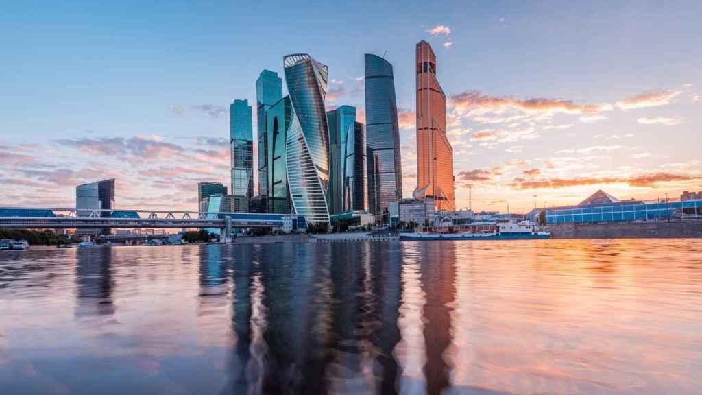 Skyline de Moscú.