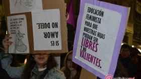 manifestacion 8m dia mujer valladolid 18