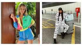 Jessica Goicoechea y Marta Soriano han caído en la tentación de la comodidad y lo 'trendy'.