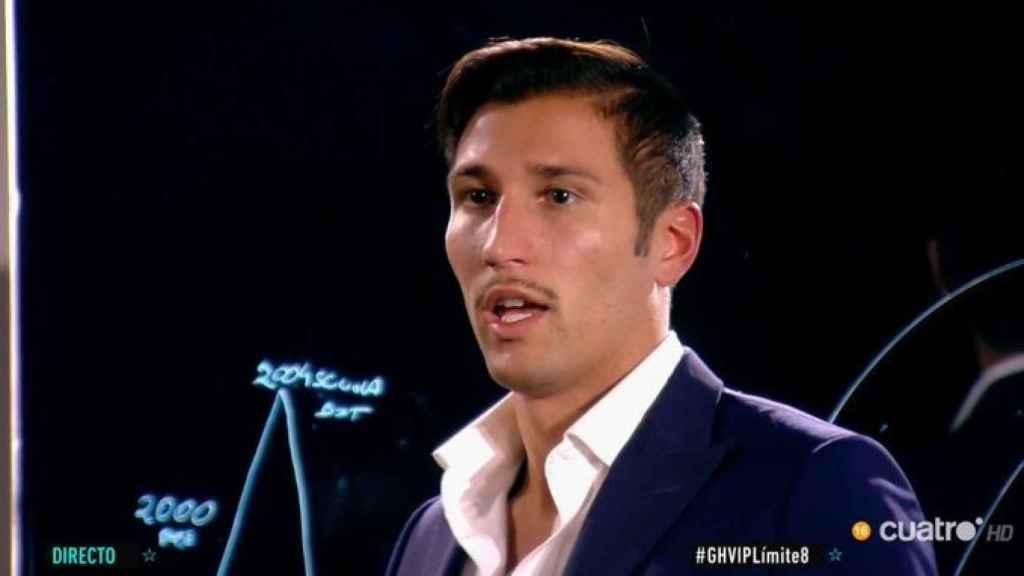 Gianmarco Onestini ha relatado su curva de la vida en 'GH VIP: Límite 48 horas'.