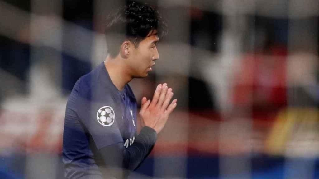 Son Heung-min pide perdón a André Gomes por la lesión