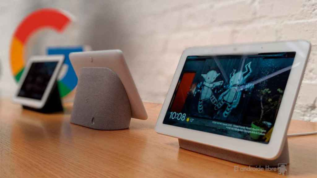 Google Nest Hub, el primer dispositivo en recibir Fuchsia OS