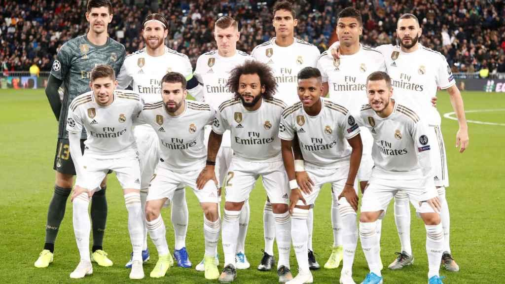 Los once titulares del Real Madrid ante el Galatasaray