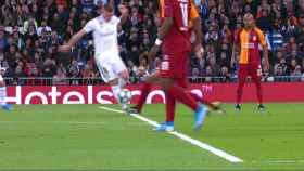 Penalti sobre Toni Kroos