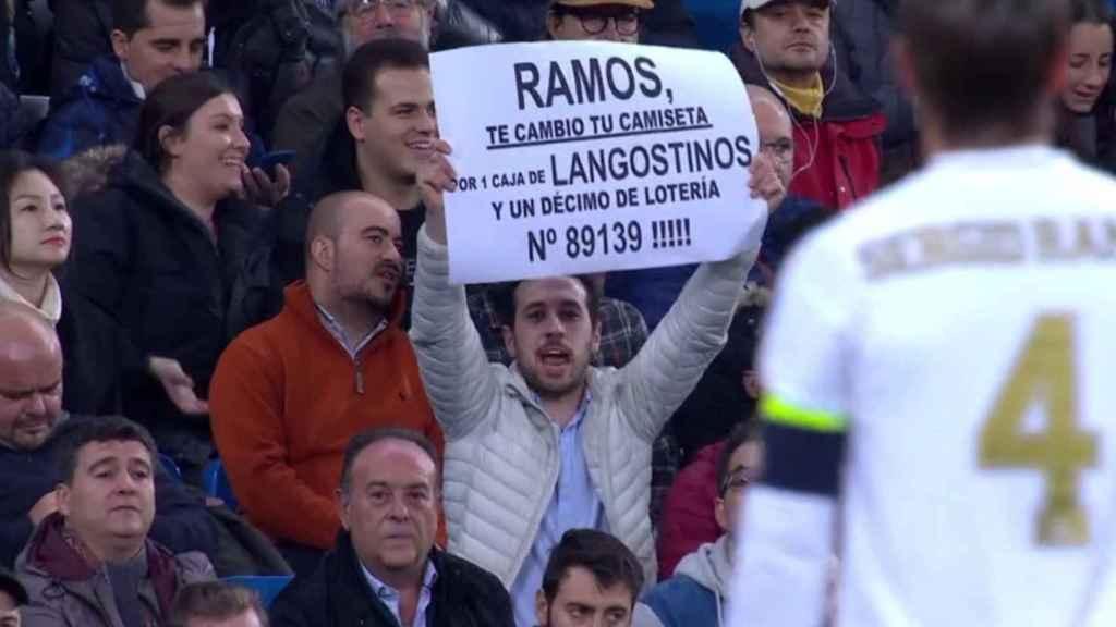 Sergio Ramos marca de penalti a lo 'Panenka' ante el Galatasaray