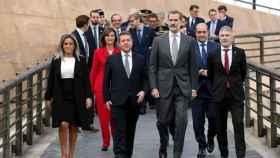 El Rey inaugura el Congreso Internacional 'Igualdad de género en el ámbito de la Seguridad'.