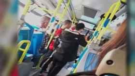 Captura de pantalla del vídeo difundido en redes.