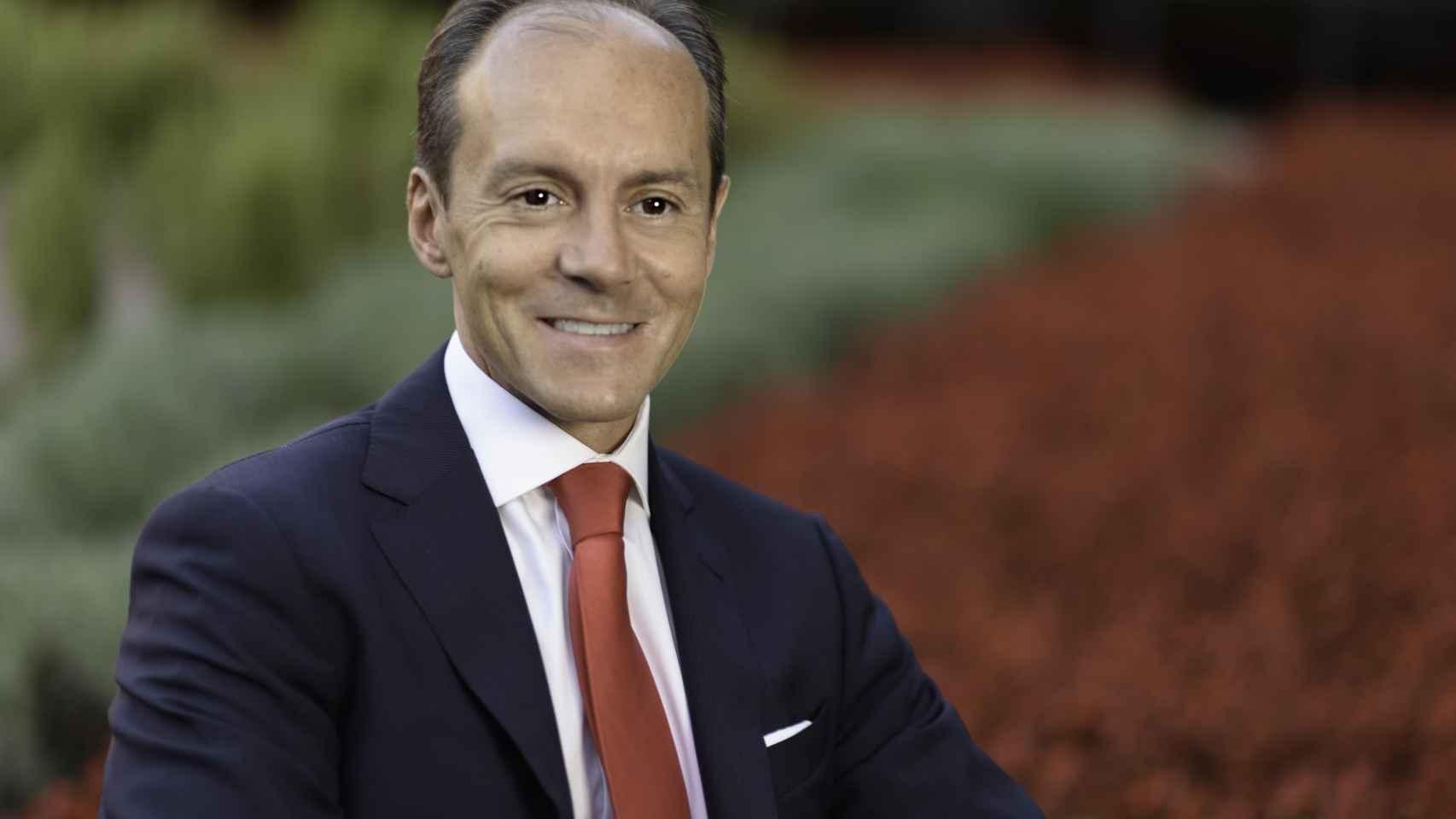 El consejero delegado de Santander, Rami Aboukhair.