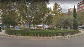 Los hechos ocurrieron en una transitada plaza de Mallorca.