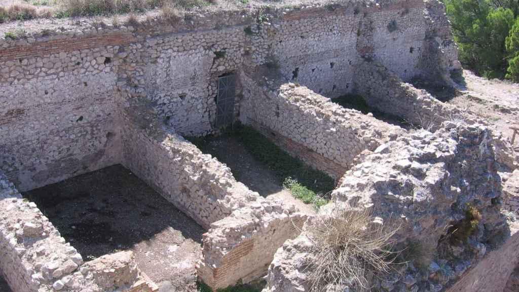 Restos de la villa de Tiberio.