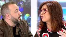 Antonio Maestre y Ana Rosa Quintana (Telecinco)