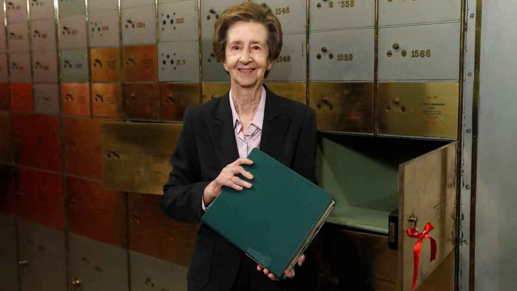 La investigadora Margarita Salas.