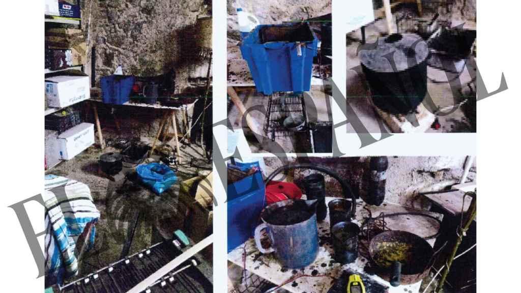 Una de las imágenes del laboratorio de los CDR.