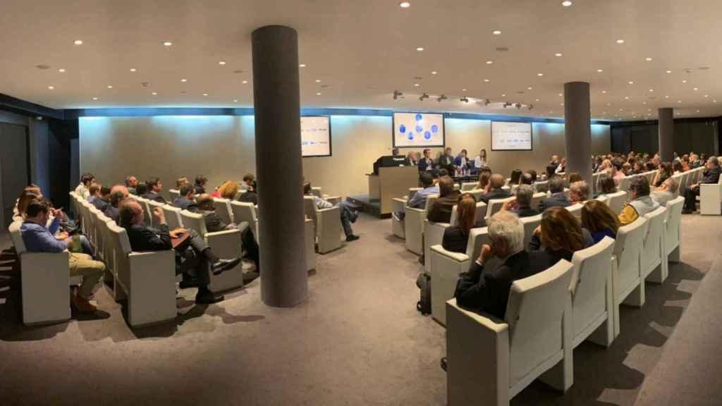 Instantánea del I Encuentro de Ética e Inteligencia Artificial organizado por We The Humans