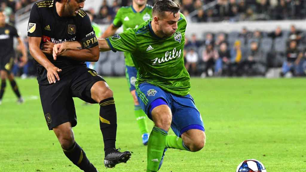Seattle Sounders ganó a Los Angeles FC en las semis de la MLS Cup