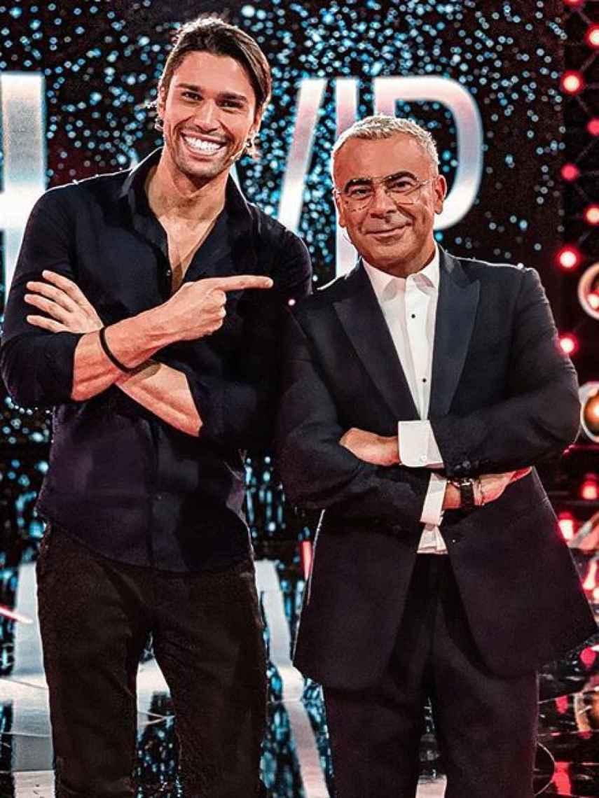 Luca Onestini y Jorge Javier Vázquez en una de las galas de 'Gran Hermano VIP'.