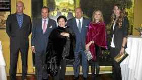 La familia del fundador de la empresa de zapatos Marypaz, ahora en concurso de acreedores.
