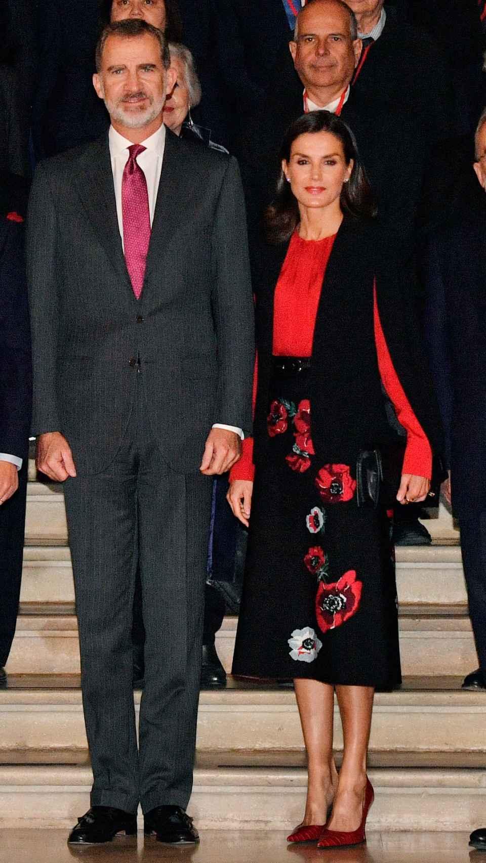 La Reina ha asistido este viernes a un evento en Sevilla.