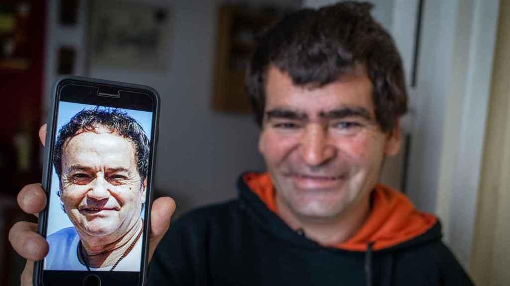 Luis Jiménez responde al apodo de 'Joselito' por su parecido físico con el niño cantor de 'El Pequeño Ruiseñor'.