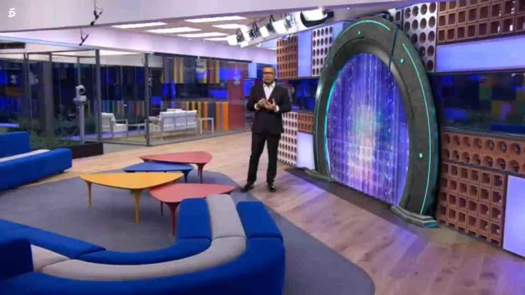 Telecinco utilizó la realidad virtual para el estreno de 'GH 17' con Jorge Javier Vázquez.