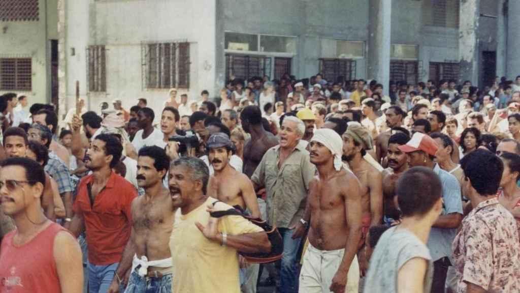 Las manifestaciones de Cuba sucedidas en 1994.