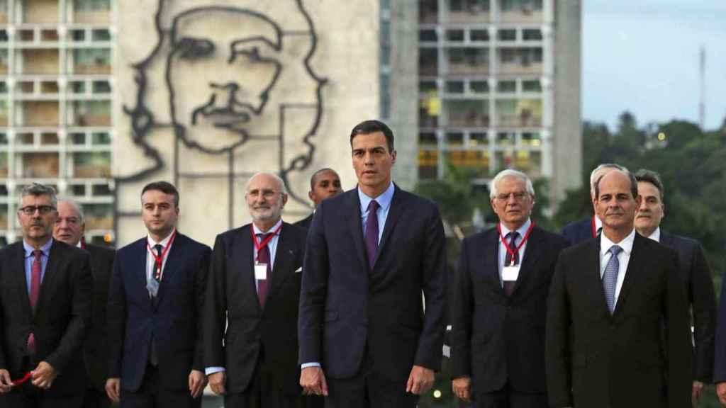 Pedro Sánchez, en su visita a La Habana, el pasado mes de noviembre.