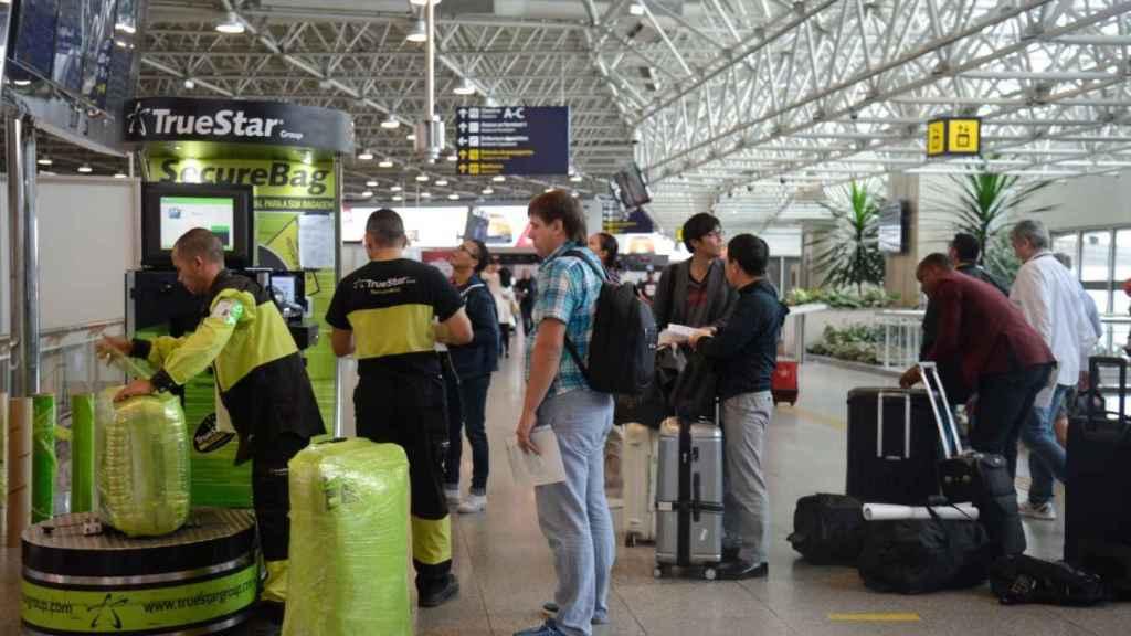 Una foto de archivo del Aeropuerto Internacional de Galeão, en Río de Janeiro.