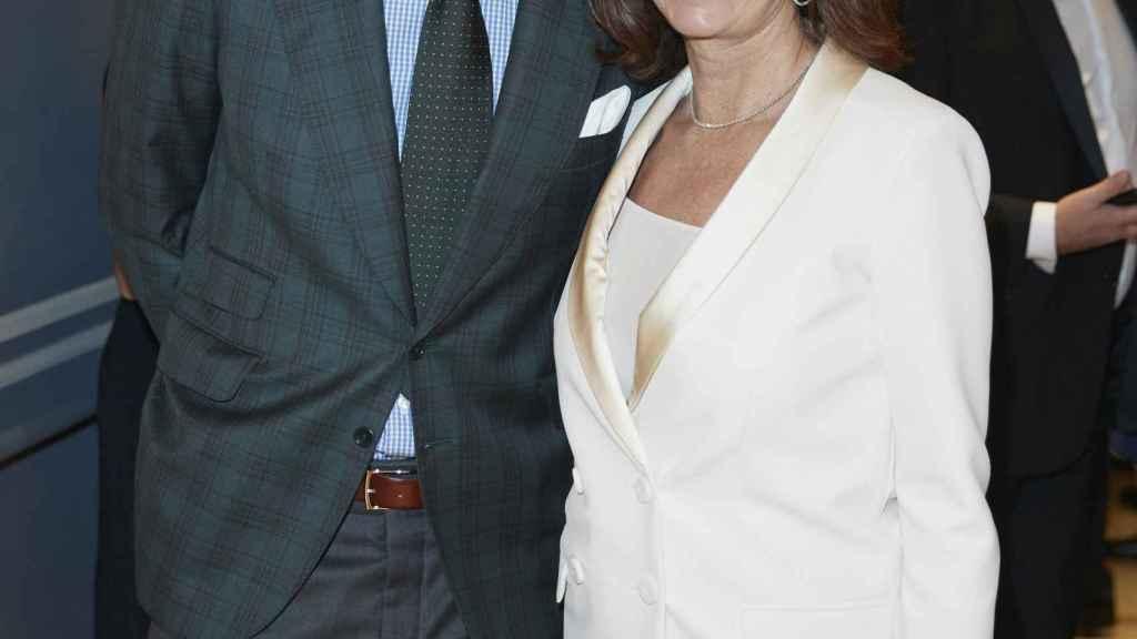 Joaquín Prat y Ana Rosa Quintana en la gala de la Fundación Querer.