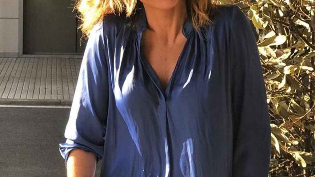 La presentadora Emma García.