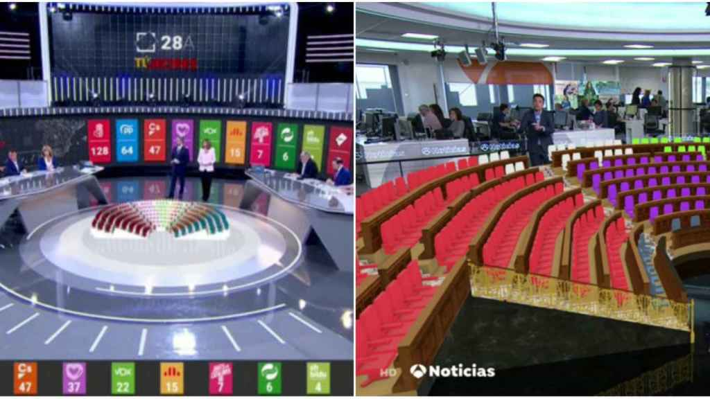 La realidad virtual es un elemento más en los informativos de TVE y Atresmedia.
