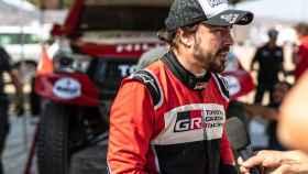 Fernando Alonso en el Rally Al Ula-Neom