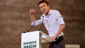 El líder de Más País y portavoz adjunto del Grupo Plural en el Congreso, Íñigo Errejón.