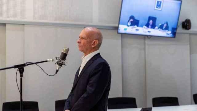 Hugo Carvajal, en la vista de extradición celebrada en la Audiencia Nacional./