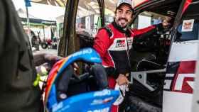 Fernando Alonso, en el Ula-Neom Rally