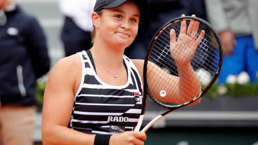 La tenista australiana Ashleigh Barty