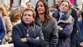 El alcalde Almeida, la vicealcaldesa Villacís, y la líder local de Más Madrid, Marta Higueras.