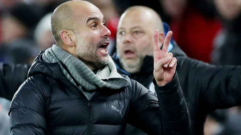 Guardiola, tras acabar el Liverpool - City