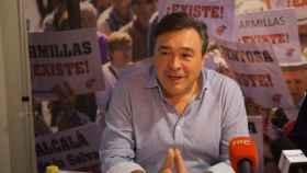 Tomás Guitarte, cabeza de lista de la candidatura de Teruel Existe.