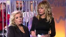 Carmen Borrego y Emma García en el programa 'Viva la vida'.