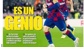 La portada del diario Mundo Deportivo (10/11/2019)