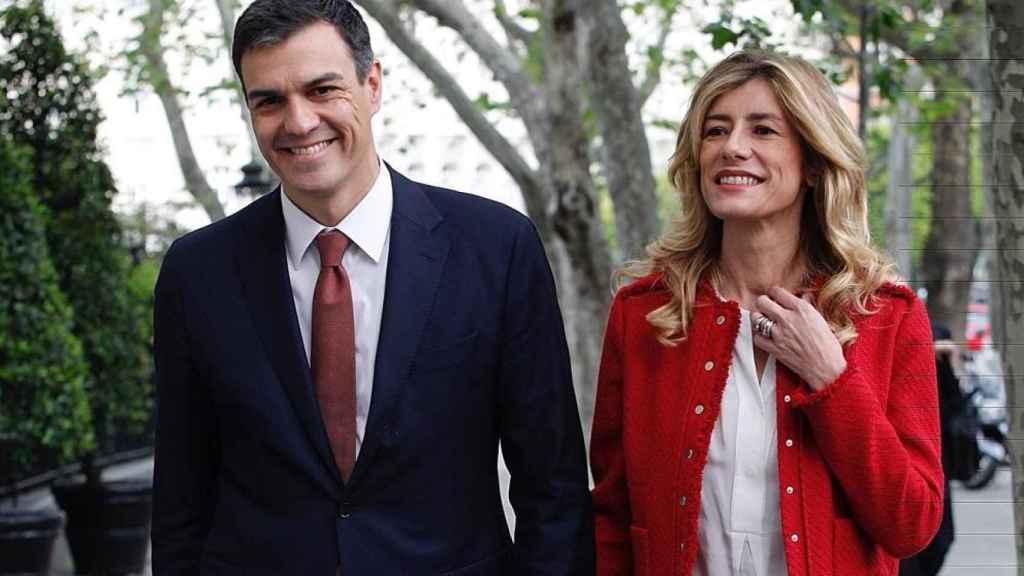Pedro Sánchez y Begoña Gómez.