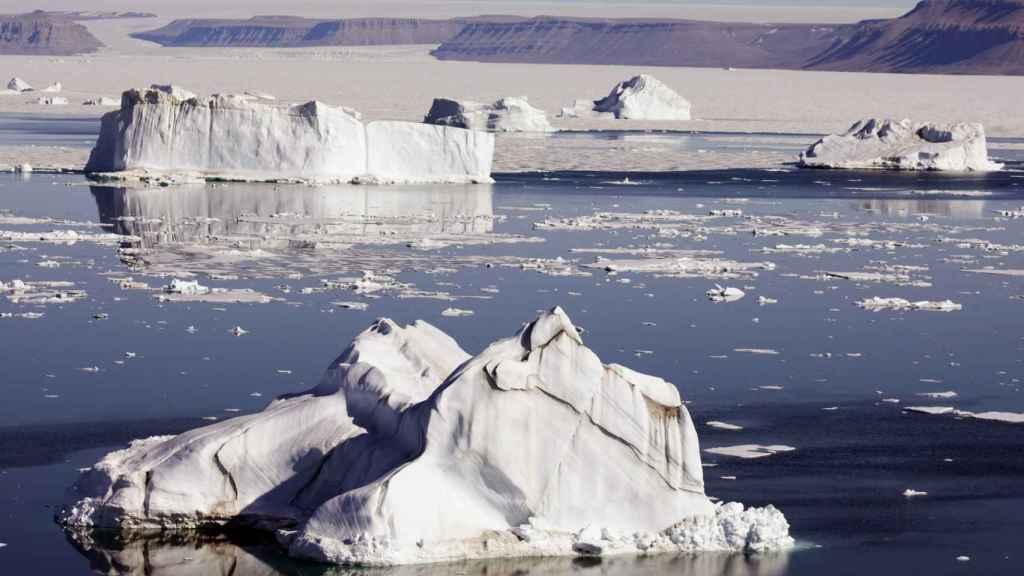 El calentamiento global provoca el deshielo de los glaciares.