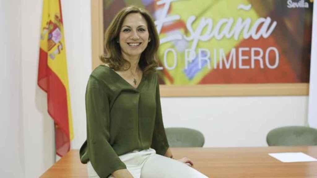 Reyes Romero es diputada de Vox por Sevilla.