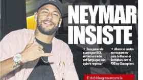 Portada Mundo Deportivo (12/11/2019)