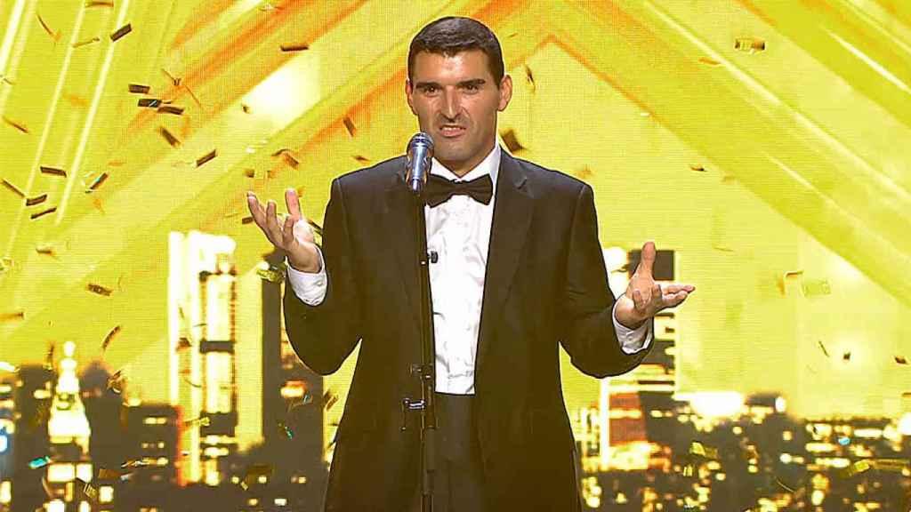David García se ha llevado el último pase de oro de 'Got Talent'.